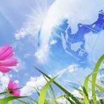 flowering earht to sky
